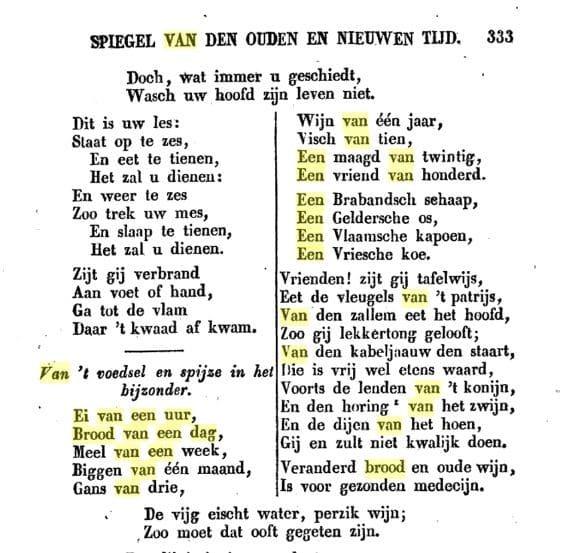 Similia-principe voor de tijd van Hahnemann